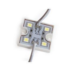 Module 4 LEDs SMD5050 1,44W US-LMP5050W4-0001  - Couleur Blanc Neutre