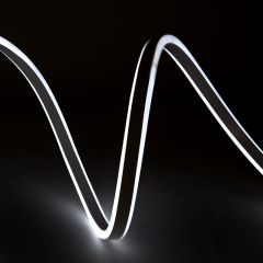 Hose Neon Flex Émissions Latérales Double SMD2835 220-230VAC 12W/M WM-SMD2835-NFD-120-W x 1M  - Couleur Blanc Neutre