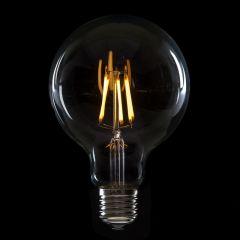 Ampoule à LED E27 6W 432Lm 2000ºK Filament G95 30.000H [WO-LF-G95-E27-6W-WW]  - Couleur Blanc chaud