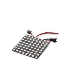 Écran Pixel LED 8X8Cm 64 Pîxels 5VDC 19,5W IP30 RGB