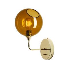 """Applique Murale """"Ballroom Amber"""" Ø370mm E27 Sans Ampoule"""