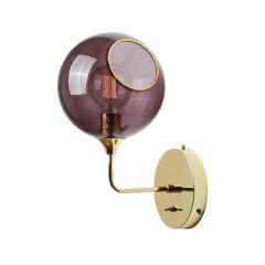 """Applique Murale """"Ballroom Purple Rain"""" Ø370mm E27 Sans Ampoule"""