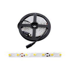 Pack 4 Bande De LED 300 X SMD5050 12VDC  - Couleur Blanc chaud