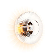 """Applique Murale """"New Wave Optic Clear"""" E27 Sans Ampoule"""