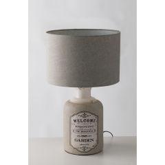 """Lampe de Table """"FACTORY"""" 1XE27 Sans Ampoule  [FAN-I-FACTORY-XL]  - Couleur Sans ampoule/voir accessoires"""