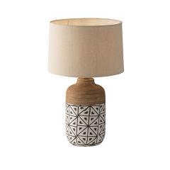 "Lampe De Table ""Vietri"" [FAN-I-VIETRI-XL]"
