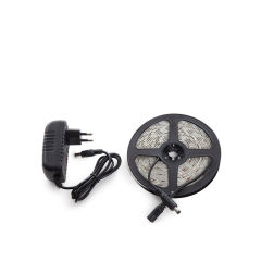 KitBande 300 LEDs 24W Blanc Froid Blister Transformateur IP65  - Couleur Blanc froid