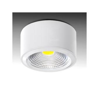 Downlight Monté En Surface LED COB IP54 7W 560Lm 30.000H  - Couleur Blanc Neutre