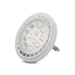 Ampoule À LED AR111 G53 SMD2835 9W 900Lm 30.000H  - Couleur Blanc chaud