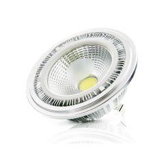Ampoule AR111 COB DimmableAvec Externe Driver 12W 1000Lm 30.000H  - Couleur Blanc chaud