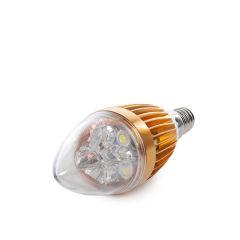 Bougie Ampoule LED E14 5W 12VAC/Dc 400Lm 30.000H  - Couleur Blanc chaud