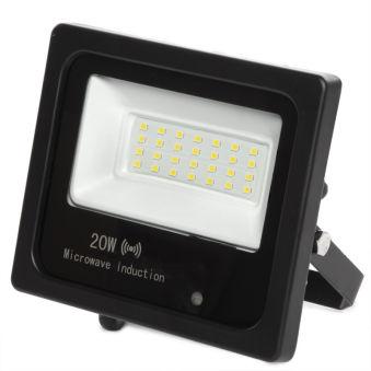 Projecteur Led Floodlight IP65 Détecteur De Mouvement Intégré 20W 30.000H  - Couleur Blanc froid