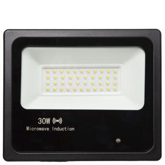 Projecteur Led Floodlight IP65 Détecteur De Mouvement Intégré 30W 30.000H  - Couleur Blanc Neutre