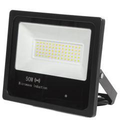 Projecteur Led Floodlight IP65 Détecteur De Mouvement Intégré 50W 30.000H  - Couleur Blanc Neutre