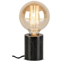 [IAR-ATHENS/T/B] Lampe De Table MBrasól Athens Cilíndro Ø7,5x10cm  - Abat jour - Noir