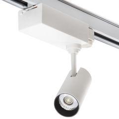 Spot LED Sur Rail 3 Phases 10W 900Lm 30.000H Lyla  - Couleur Blanc froid