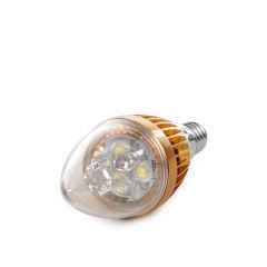 Bougie Ampoule LED E14 3W 12VAC/Dc 240Lm 30.000H  - Couleur Blanc chaud