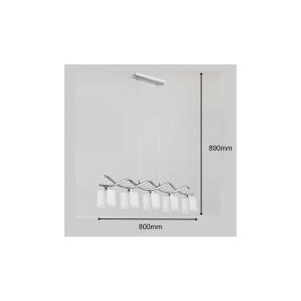 """Lampe À Suspension """"Illusion"""" [ALF-17135]"""