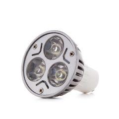 Ampoule À LED Spot GU10 3W 300Lm 30.000H  - Couleur Blanc chaud