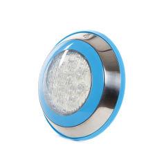 Lumière LED pour Piscine Monté En Surface Ø230Mm 12W RGB Avec Télécommande  - Couleur RVB