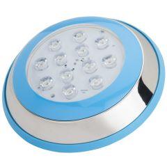 Lumière LED pour Piscine Monté En Surface Ø230Mm 12W Blanc NeutreBlanc  - Couleur Blanc Neutre