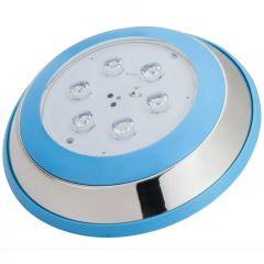 Lumière LED pour Piscine Monté En Surface Ø230Mm 6W Blanc NeutreBlanc  - Couleur Blanc Neutre