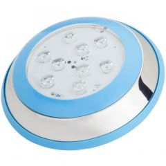 Lumière LED pour Piscine Monté En Surface Ø230Mm 9W Blanc NeutreBlanc  - Couleur Blanc Neutre
